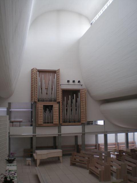 Utzon's Bagsvaerd Church