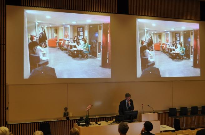 Patrik Svensson at DIGHUMLAB launch 10 September 2012